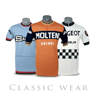 Classic cycling wear