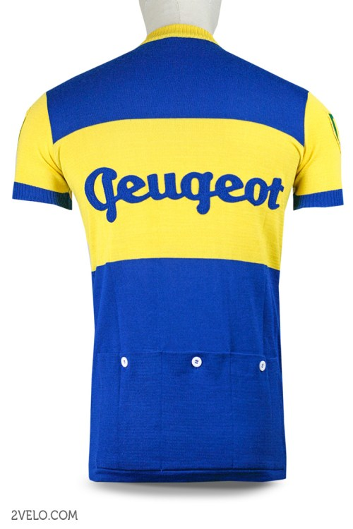 Peugeot UK BP, 1950 vintage retro cycling, maglia ciclismo 2velo