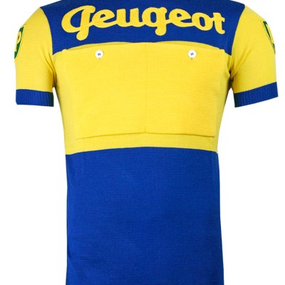 Peugeot UK BP, 1950 vintage retro cycling, maglia ciclismo 2velo