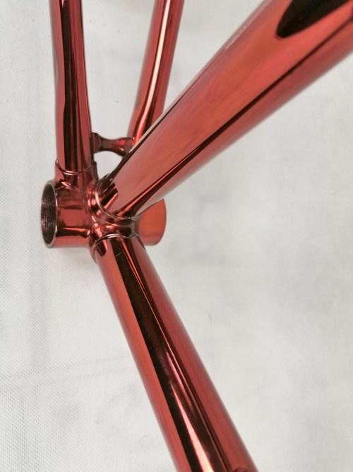 Scapin chromovelato frame fork 2velo