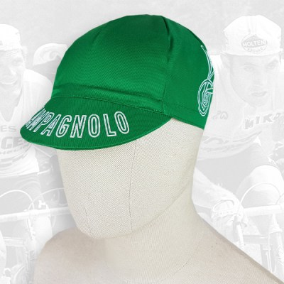 Campagnolo green cycling cotton cap 2VELO