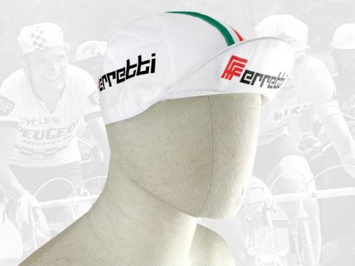 Ferretti cycling cotton cap 2VELO