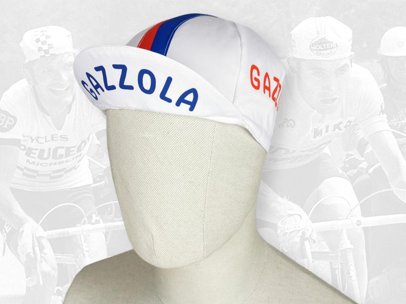 GAZZOLA cycling cotton cap 2VELO