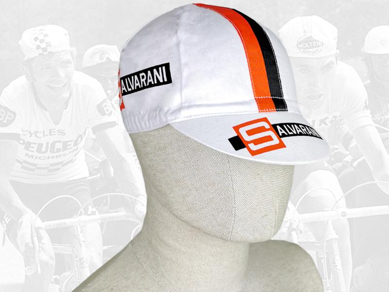 SALVARANI cycling cotton cap 2VELO