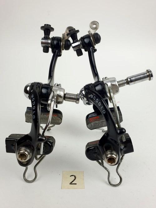 Modolo Speedy Brakes (Front & Rear) 1980s Italian Black