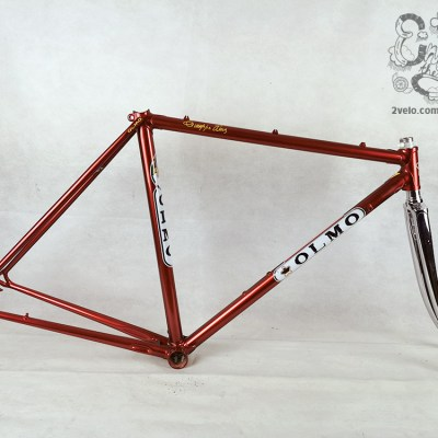 OLMO record 70, Columbus SL frame and fork 2velo