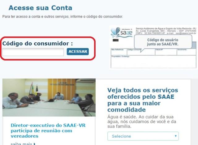 2 via SAAE Volta Redonda