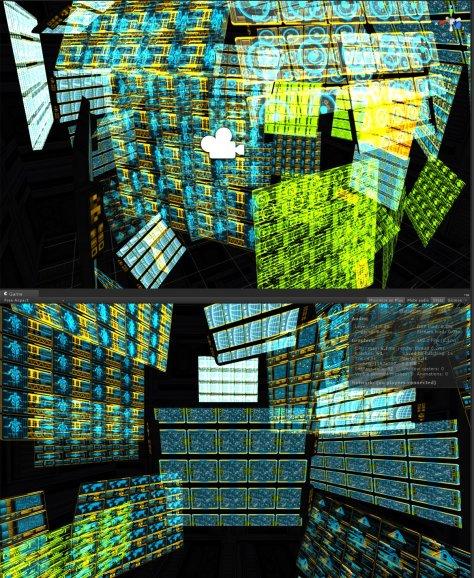 Holographic panels HD