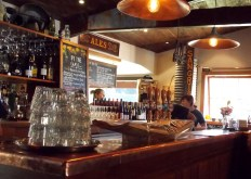 Historic Brass Bar