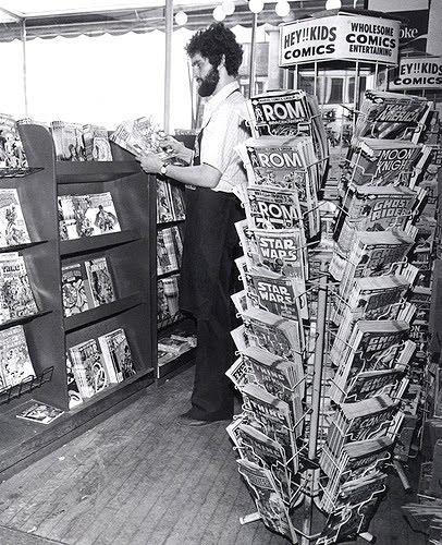 comic book spinner racks 1982 2