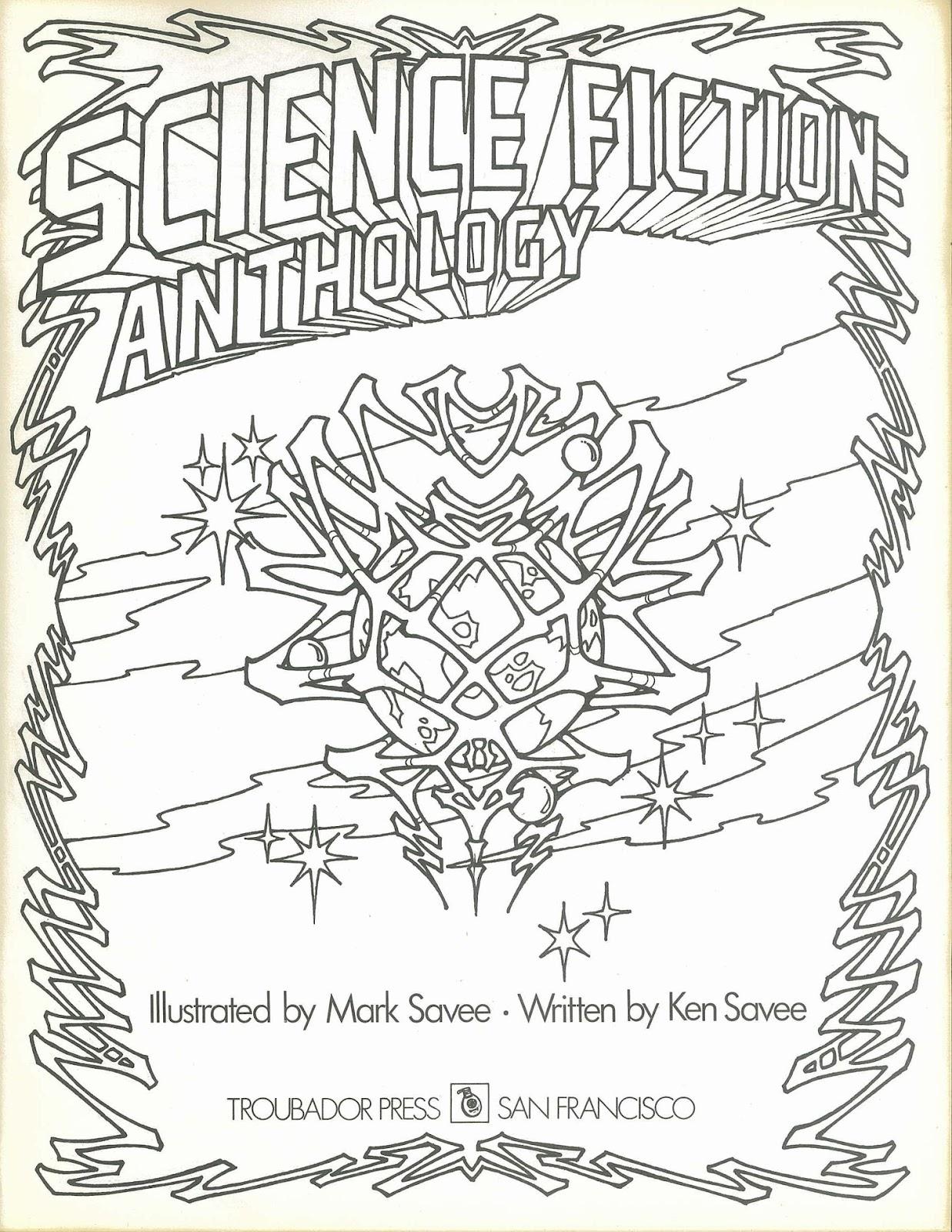 Troubador Press: Science Fiction Anthology (1974) and