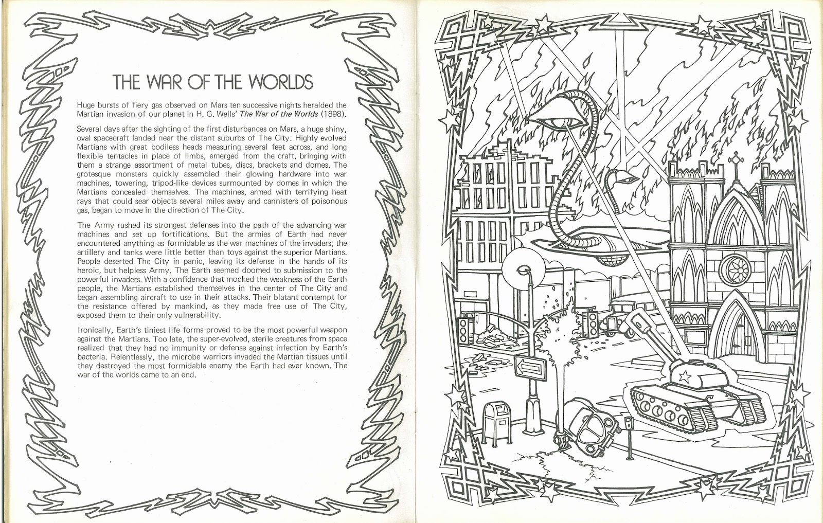 Tales Of Fantasy Coloring Book Coloring Page