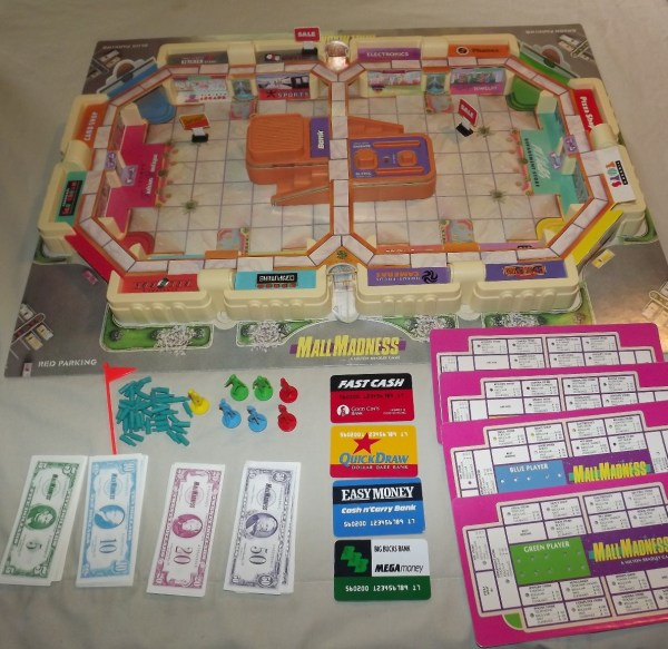 Board Games Dawn Of Dead 1978 And Electronic Mall
