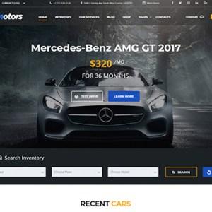Сайт для авто дилеров (2)