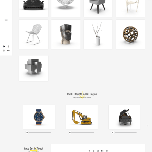 Готовый сайт для дизайн студии