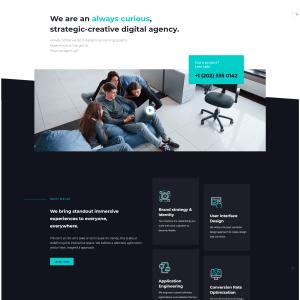 Сайт креативного корпоративного агенства