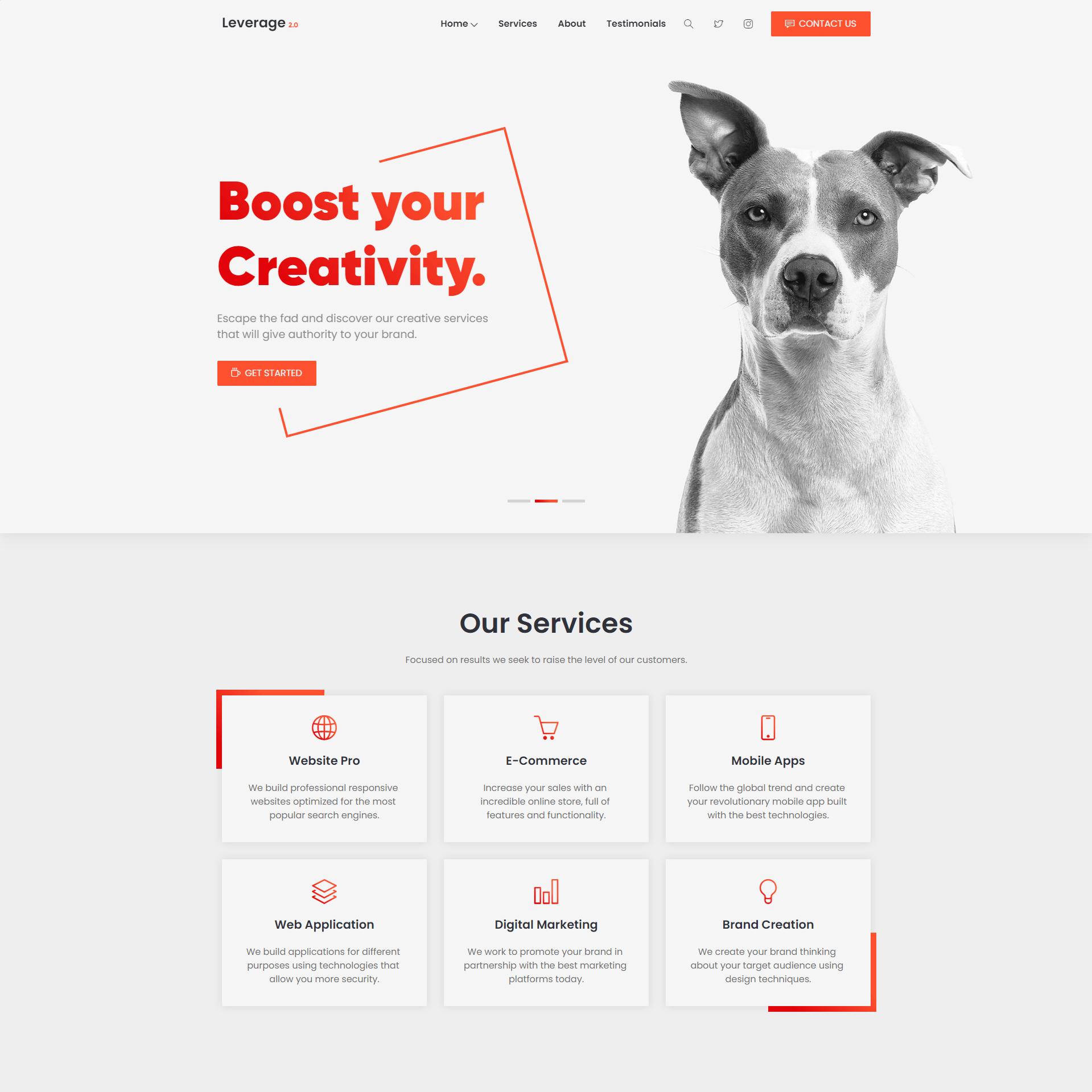 Купить готовый сайт
