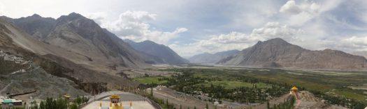 View from Diskit Monastery
