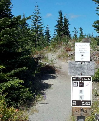 The Boundary trail is open for bikes up to Norway Pass. Perhaps some other time I'll get to explore this area.
