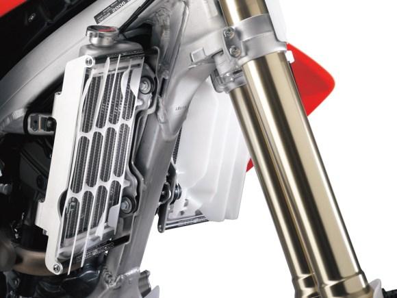 Moose Racing radiator mounts for off-road bikes