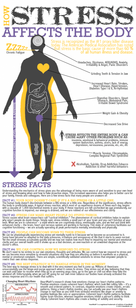 Stress On The Body: How To Deal With It