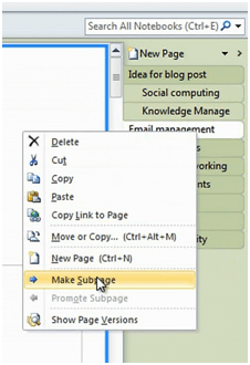 Onenote Sort Pages : onenote, pages, Learn, Arrange, Notebook, Pages, Microsoft, OneNote