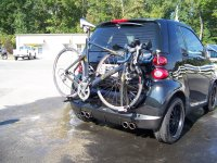 Smart Car Bicycle Rack Detachable Carrier | 2x2 Cycles