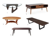 5 Irresistible Mid-Century Modern Coffee Tables