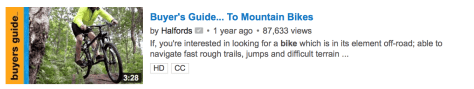 Mountain Bike Guide - Halfords