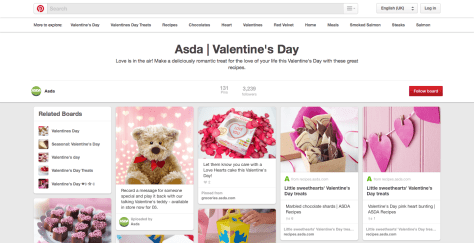 2015 ValentinesDay Marketing Campaigns of 30 UK Multichannel