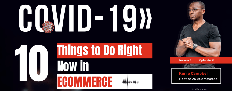 COVID-19 »»» eCommerce Isn't Closed, It is Very Much Open!