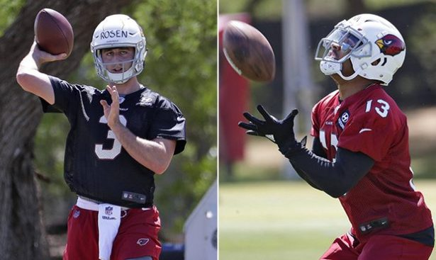 Image result for josh rosen christian kirk