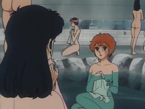 - C'est normal qu'on soit toujours à poil ? - Pas grave, nous sommes dans un shôjo : aucun garçon ne regarde.