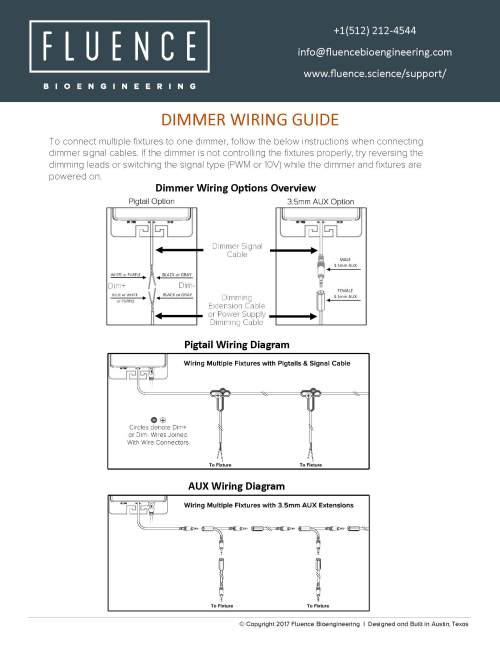 small resolution of dimmer multiple fixture wiring guide