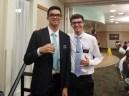 Elder Walker and Elder Kauhi (friend from Oregon)