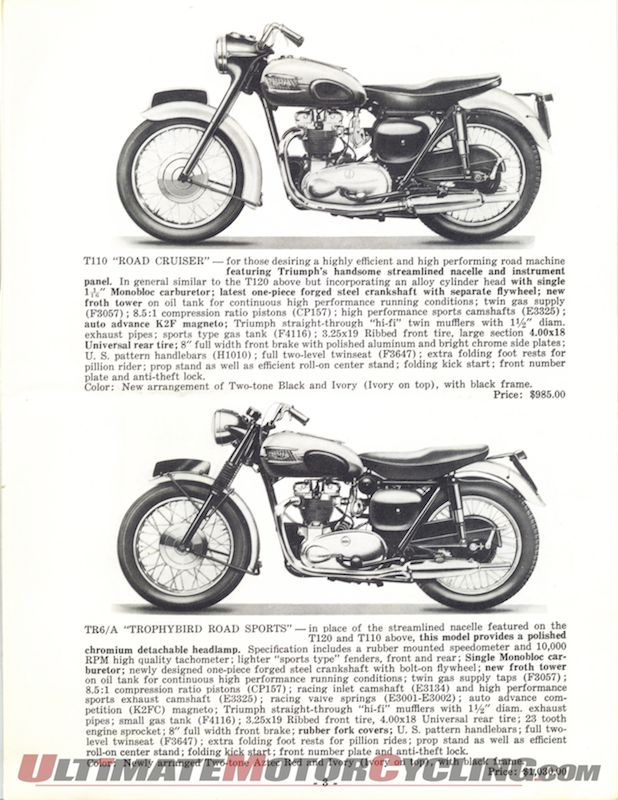 Shopping the New Triumph Catalog...in 1959