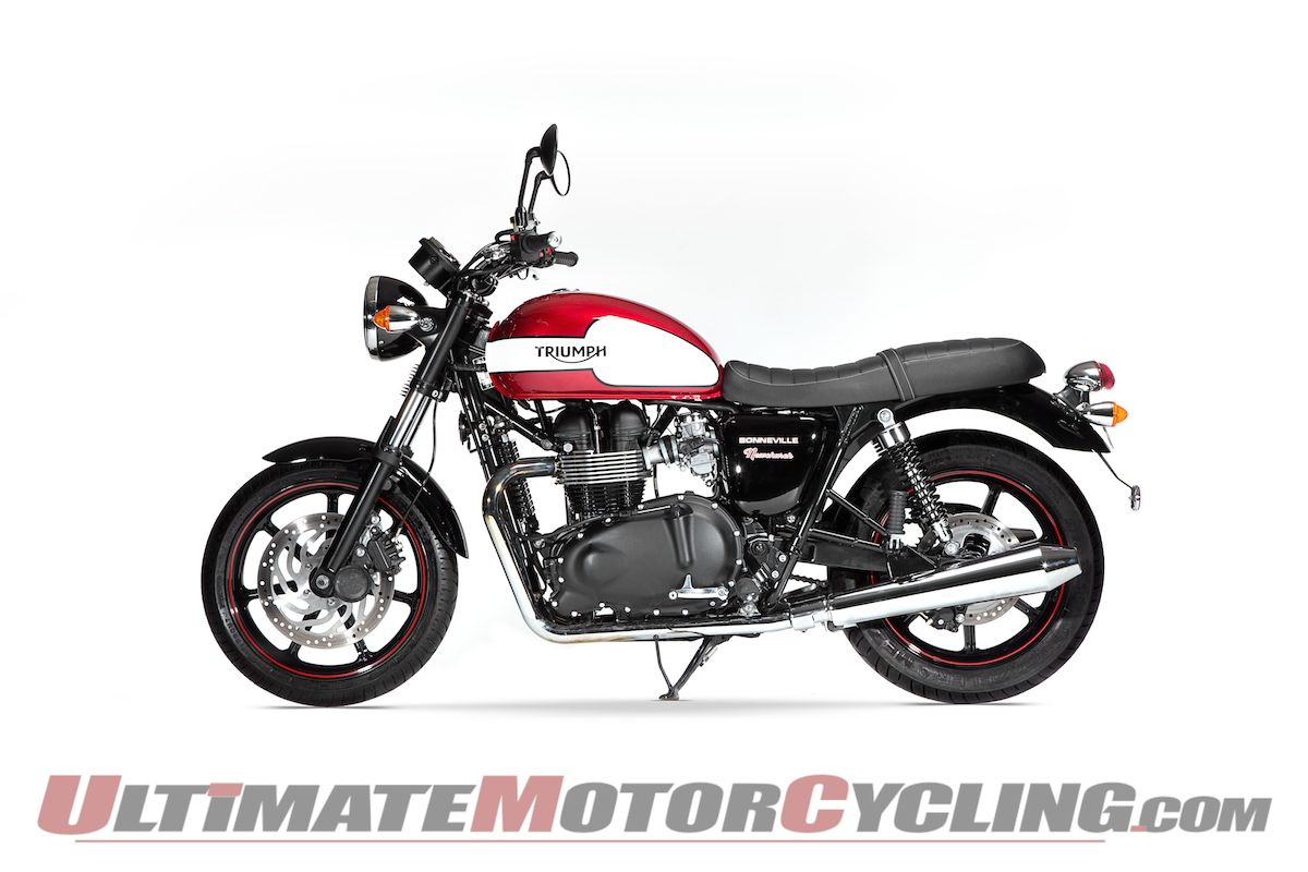 Triumph Bonneville Newchurch Special Edition First Look