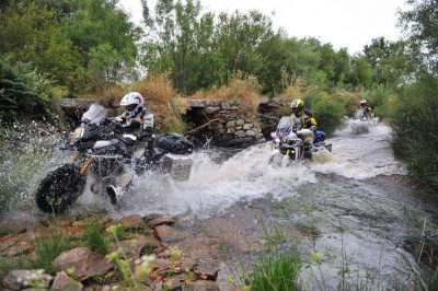 Adventure Motorcycle Tips ADV Water crossing