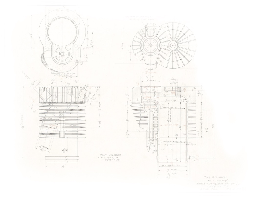 hight resolution of harley davidson 1911 cylinder drawings