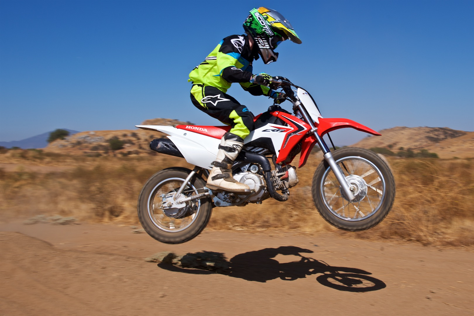 2017 Honda Crf110f Vs Yamaha Ttr110e Comparison  Kids