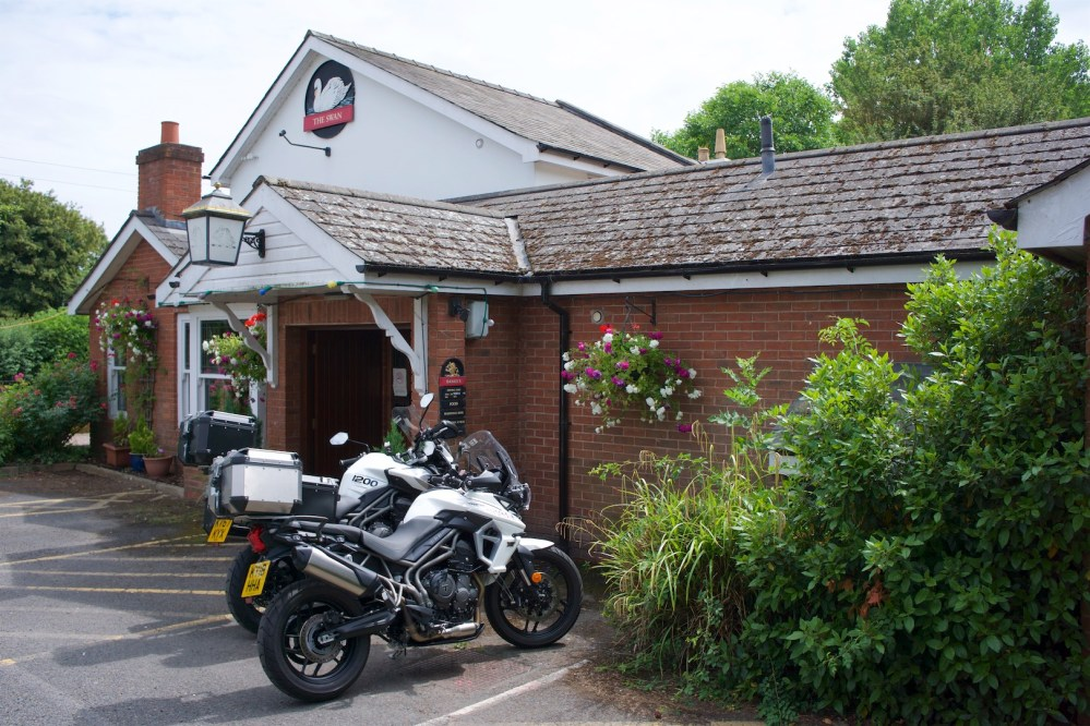 medium resolution of swann inn hereford review swan inn in hereford triumph tiger 1200 xca revioew