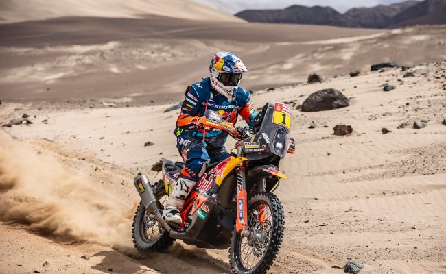 2019 Dakar Rally Stage 8 Results Motorcycles Ktm Takes