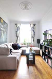 Furnishing A Narrow Living Room