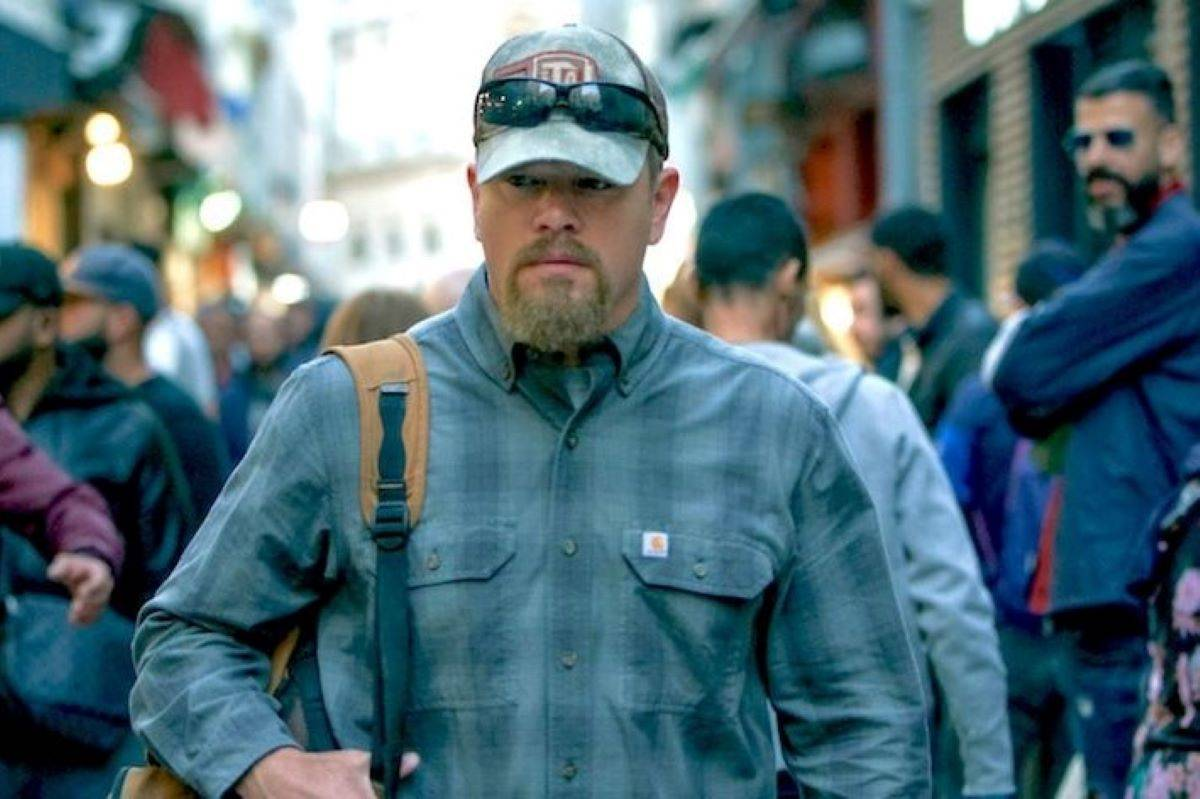 Matt Damon plays a father aiming to help his daughter who is accused of murder in Stillwater.  (Courtesy of Jessica Forde / Focus Features)
