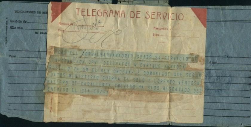 Telegrama de Servicio