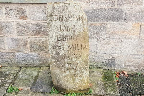 Hito Romano en Corbridge