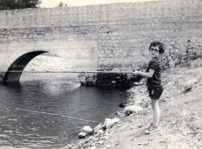 Pescando en el Pantà de Foix