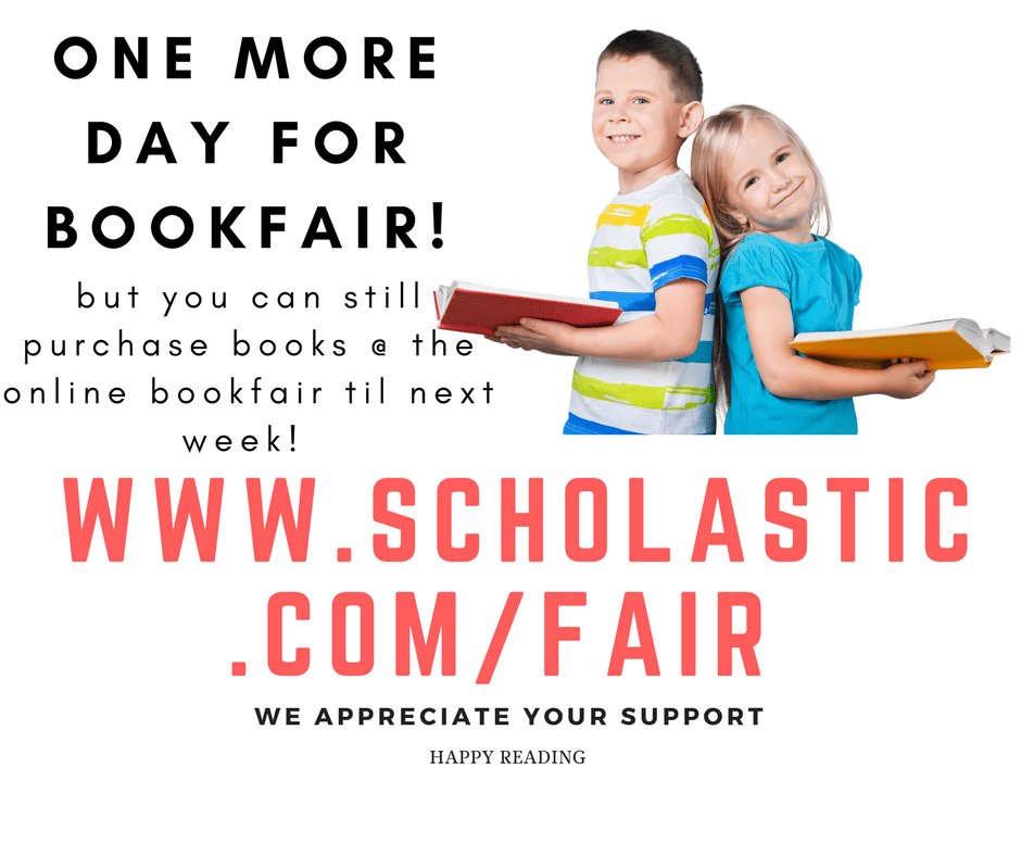one more day for book fair