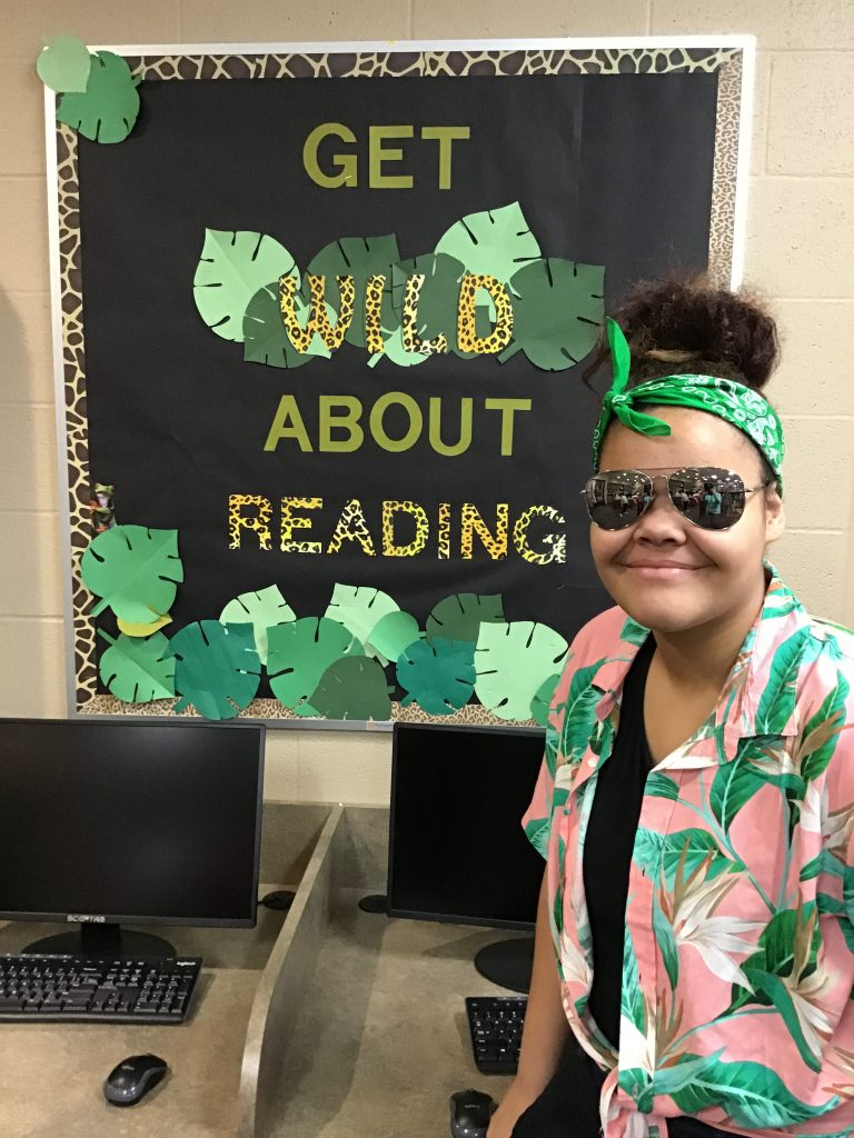 get wild about reading