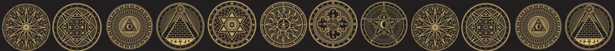 magickal-symbols-border